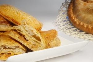 Delicias Coruña empanada hojaldre