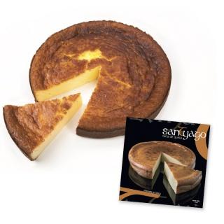 Tarta de queso Santyago