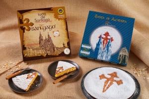 Delicias Coruña tartas de alemendra y santiago Portada