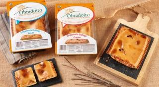 Delicias Coruña empanada horneada refrigerada rectangular 350 g
