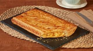 Delicias Coruña empanada hojaldre rectangular dulce 500 g