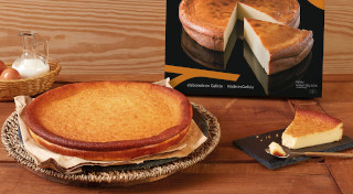 Delicias Coruña tarta de queso al horno santiago 1000 g